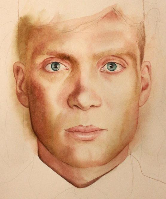 Tutorial malowanie twarzy akwarelą